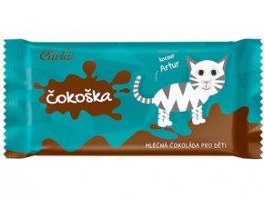 Čokoška mléčná čokoláda pro děti 20g