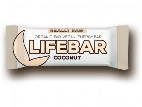 Lifebar tyčinka kokosová BIO RAW 47g