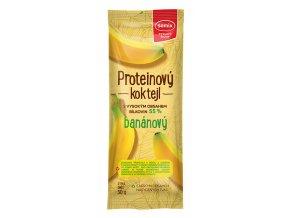 Proteinový koktejl banánový 30 g
