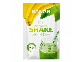 Bio matcha shake banánánový 30g