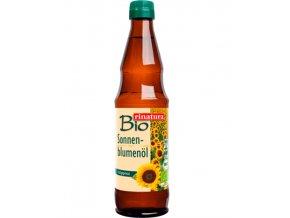 Slunečnicový olej za studena lisovaný BIO 500ml