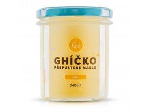 České Ghíčko BIO přepuštěné máslo 340ml