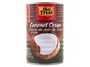 Kokosový krém Real Thai 400 ml