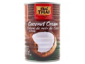 Kokosový krém Real Thai 400 ml