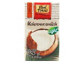 Kokosové mléko Light Real Thai 250ml