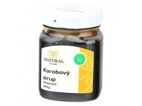 Karobový sirup 400g