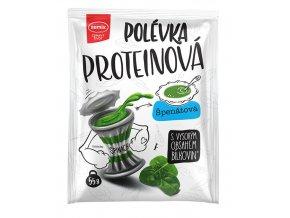 Proteinová polévka špenátová 55g