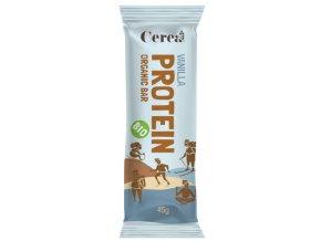 Cerea Bio proteinová tyčinka PROTEIN Vanilla 45g