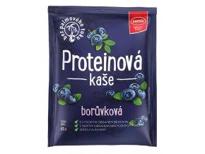 Proteinová kaše borůvková 65g