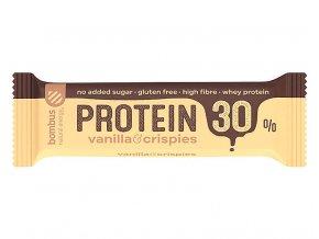 Protein 30 % Vanilla a crispies 50 g