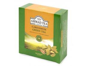 Ahmad Tea Cardamom Green Tea 100 x 2g z boku