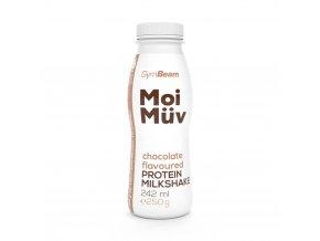 GymBeam MoiMüv Protein Milkshake čokoláda 242ml