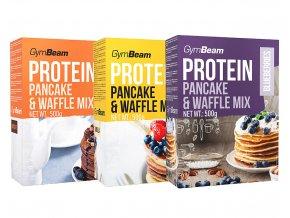 GymBeam Protein Pancake Mix různé druhy