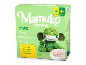 Mamuko bio dětská kaše zelená pohanka 240g