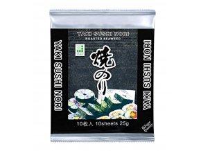 Yaki Sushi Nori Silver pražené mořské řasy 25g