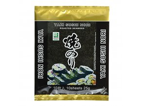 Yaki Sushi Nori Gold pražené mořské řasy 25g