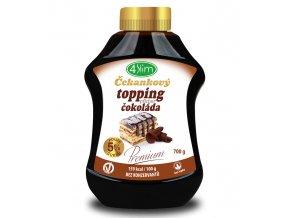 4Slim Čekankový topping čokoláda 700g