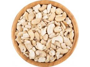 Kešu ořechy natural BIO zlomky