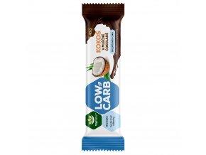 LOW CARB tyčinka Kokos v mléčné čokoládě 40g