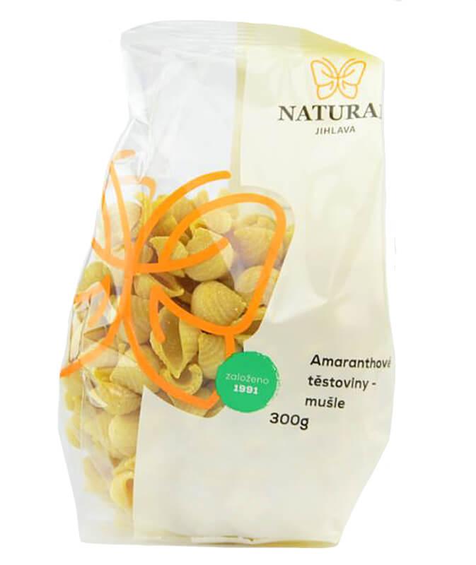 Natural Jihlava Amaranthové těstoviny mušle 300g