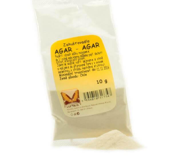 Natural Jihlava Agar Agar prášek z mořské řasy 10g