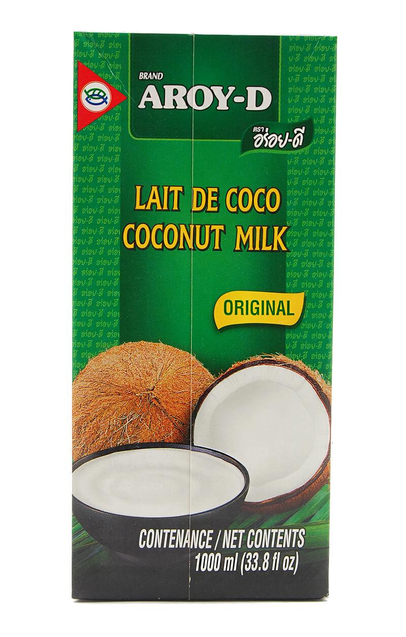 Kokosové mléko AROY-D Obsah: 1000 ml