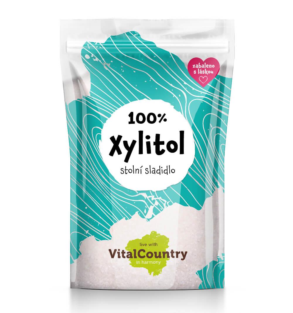 Vital Country Xylitol březový cukr Množství: 250 g