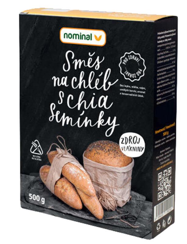 Nominal Směs na chléb s chia semínky 500g