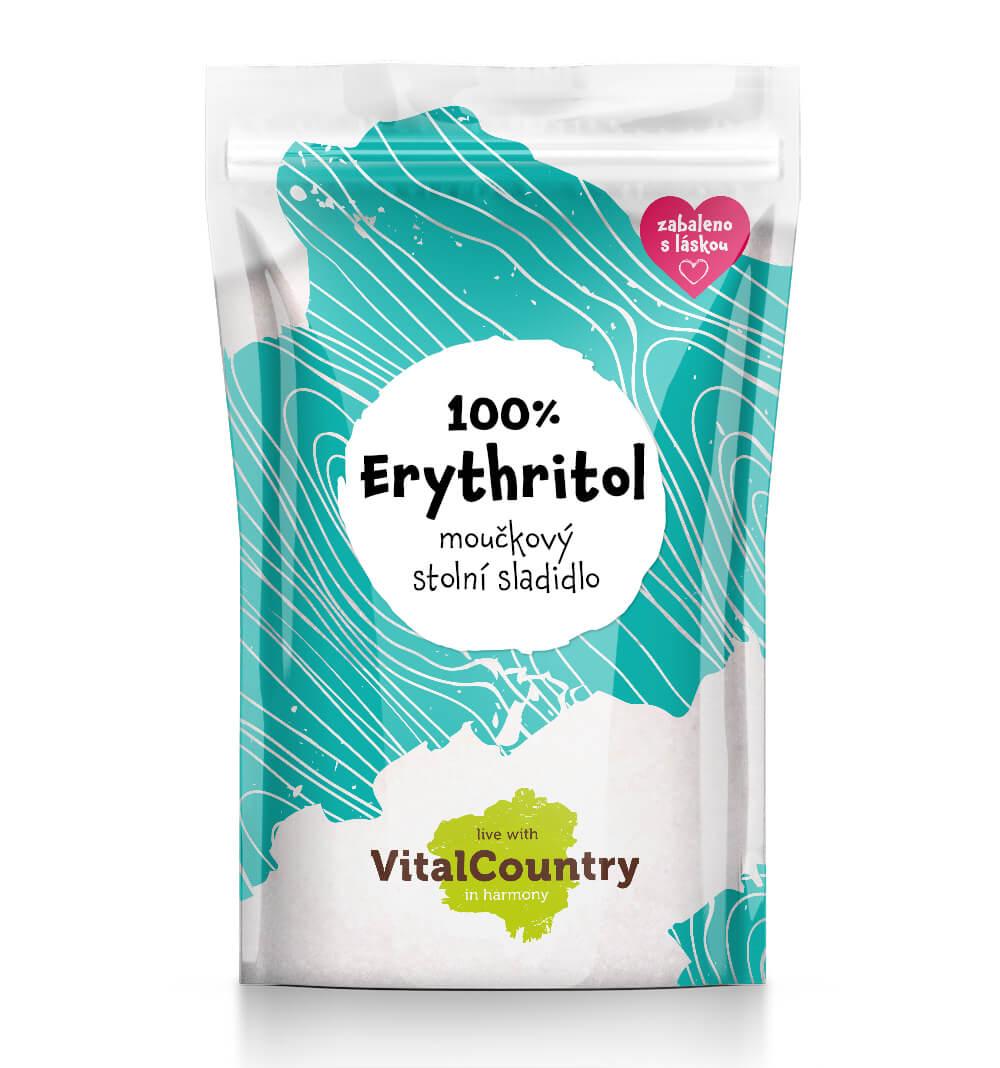 Vital Country Erythritol moučkový Množství: 500 g