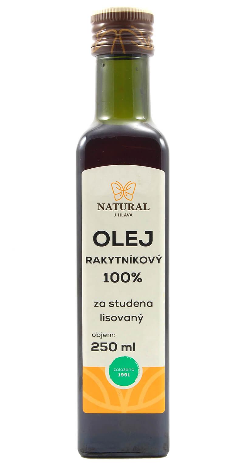 Natural Jihlava Rakytníkový olej 100% 250ml