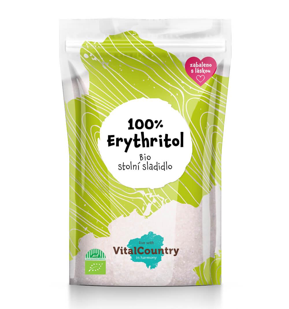 Vital Country Erythritol BIO Množství: 250 g