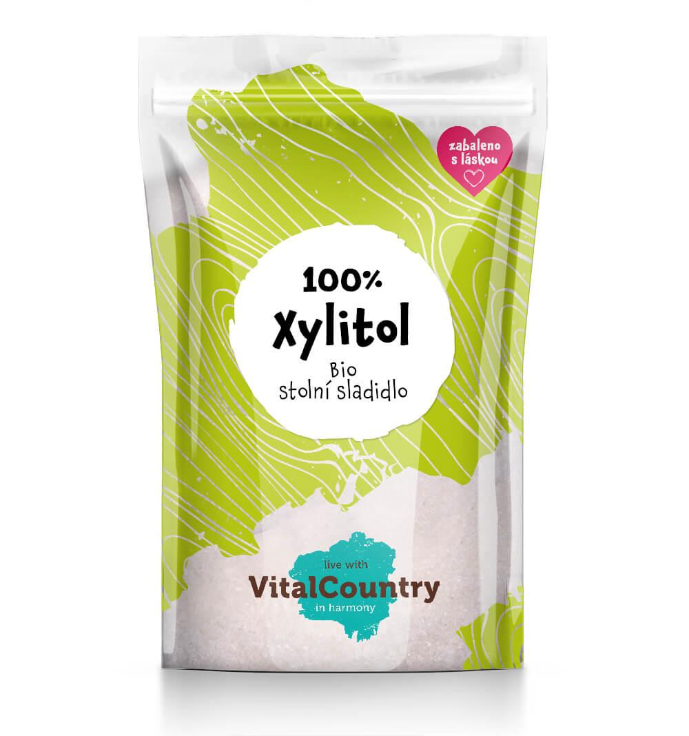Vital Country Xylitol březový cukr BIO Množství: 250 g