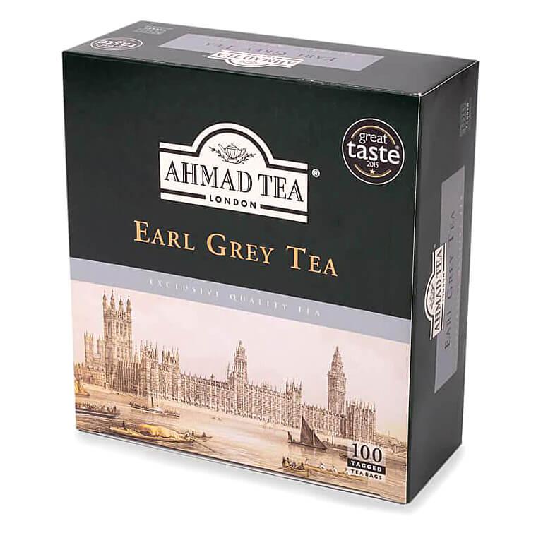 Ahmad Tea Earl Grey Tea 100 x 2g
