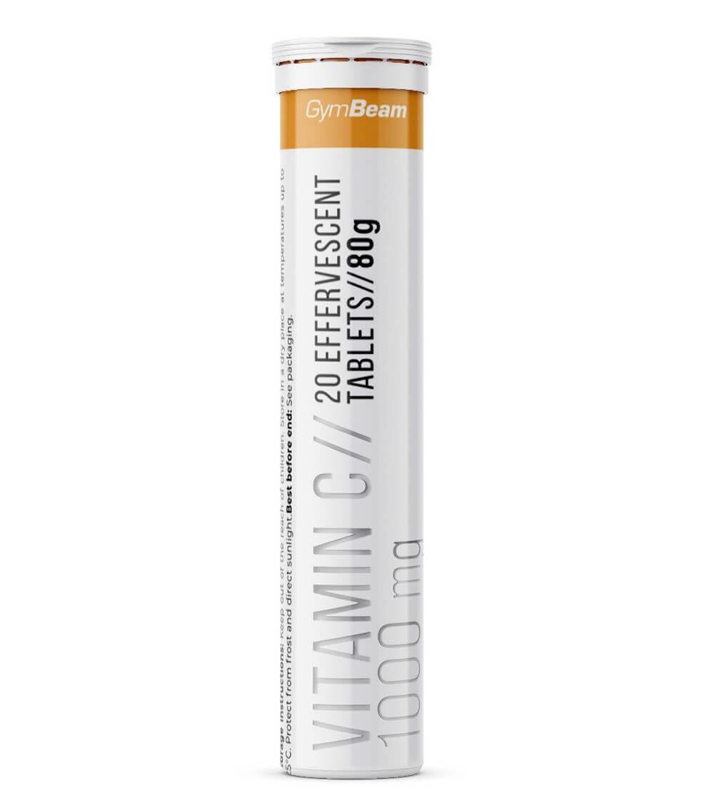 GymBeam Vitamín C 1000 mg 20 tab orange