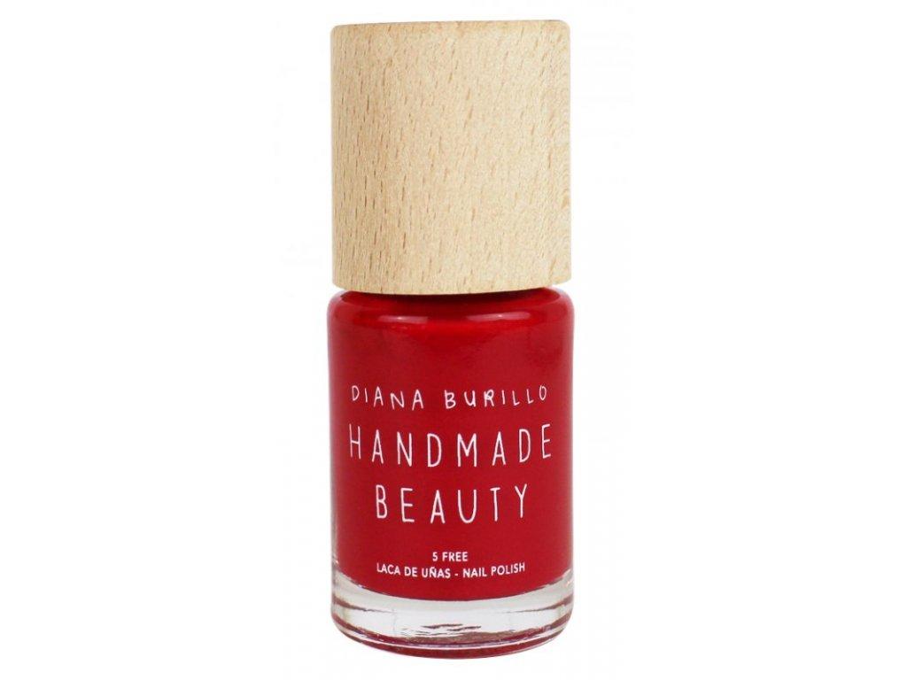 Handmade Beauty Lak na nehty 7-free (11 ml) - Cherry