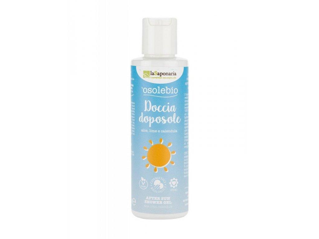 laSaponaria Sprchový gel po opalování BIO (150 ml) - pro zklidnění a hydrataci