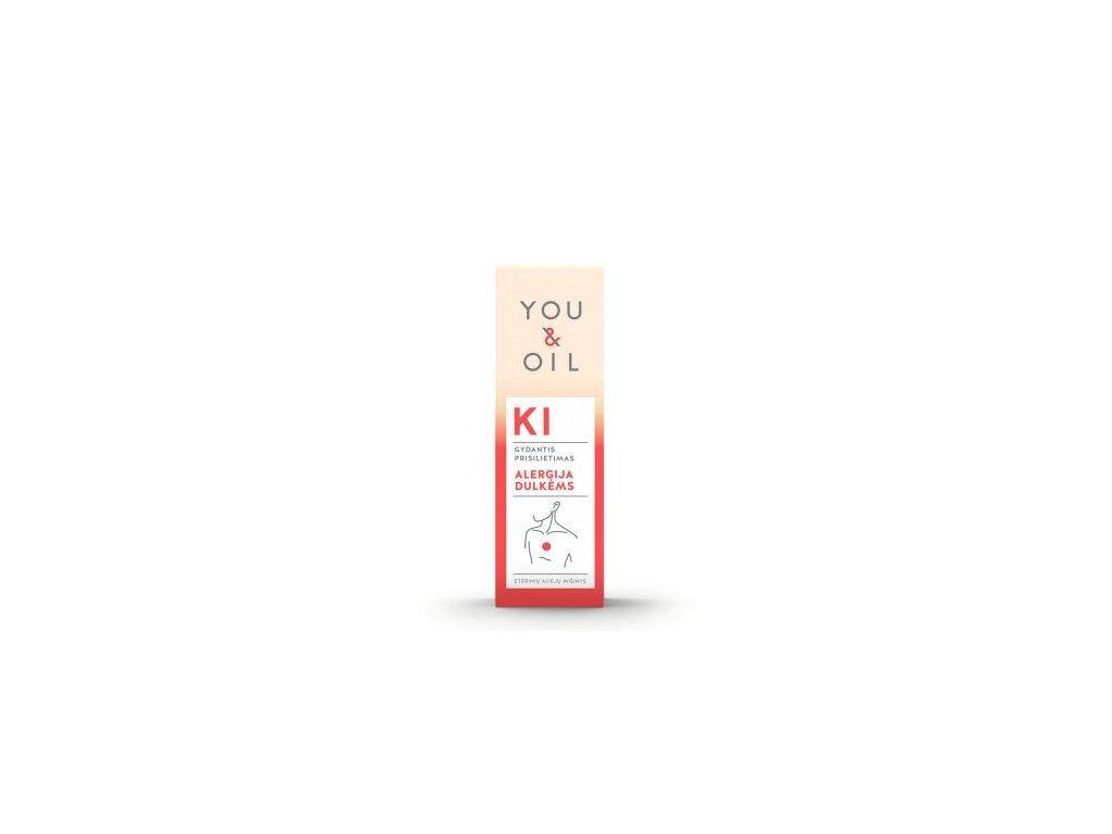 You & Oil KI Bioaktivní směs - Alergie na prach (5 ml) - uleví při senné rýmě