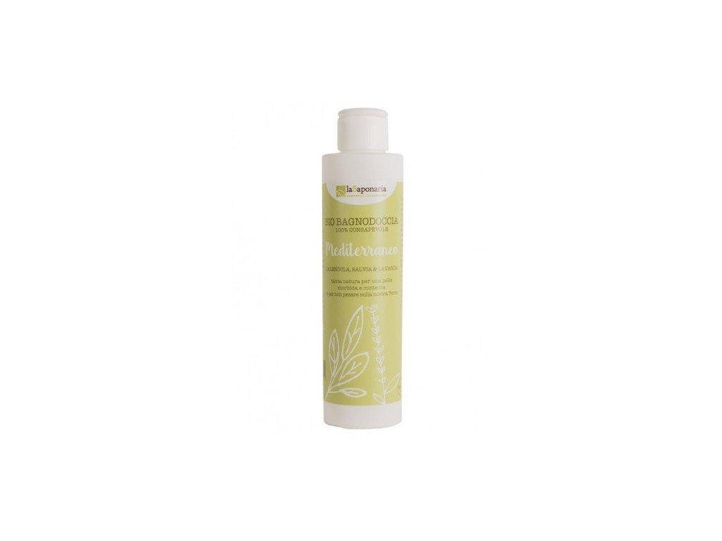 laSaponaria Středomořský sprchový gel BIO (200 ml) - se středomořskými bylinkami