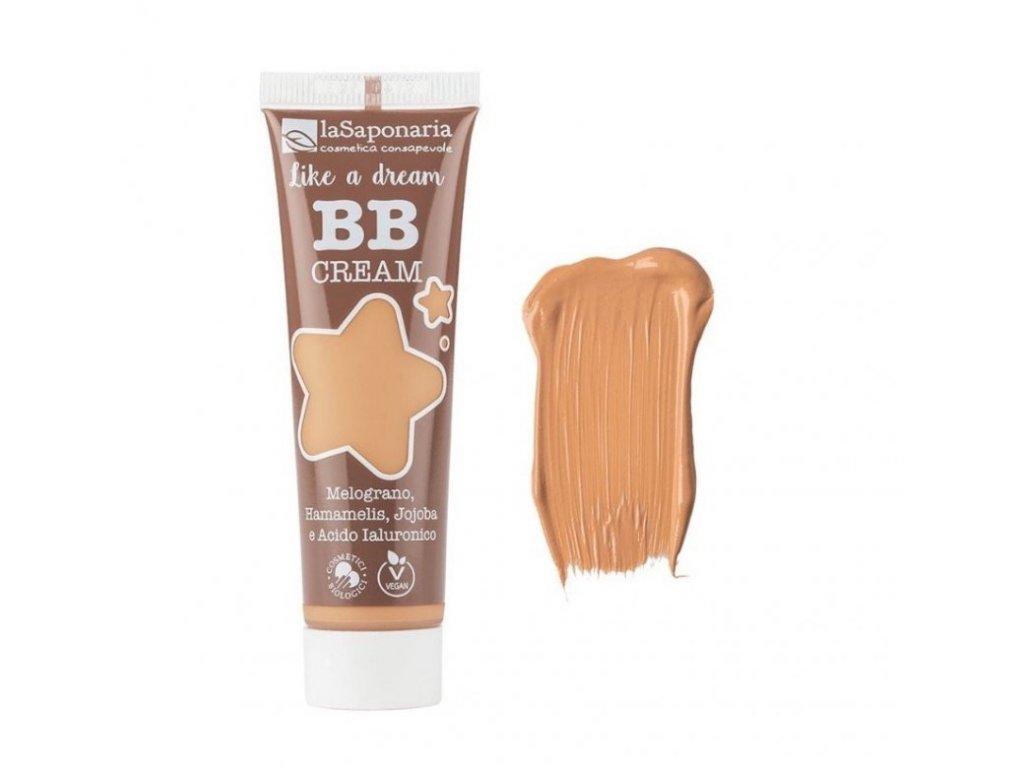 """laSaponaria BB krém """"Jako sen"""" BIO - béžový (30 ml) - lehké krytí s matným finišem"""
