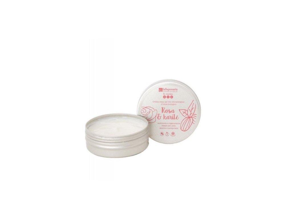laSaponaria Krém na ruce s damašskou růží BIO (60 ml) - úchvatně voní