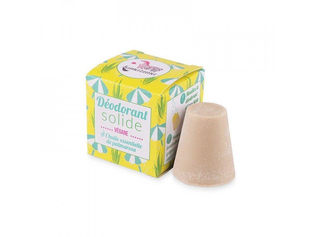 Lamazuna Tuhý deodorant - palmorůžová (30 g) - s jemnou unisex vůní