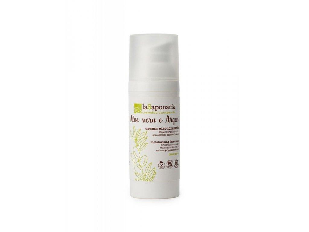 laSaponaria Hydratační krém pro smíšenou a mastnou pleť BIO (50 ml)