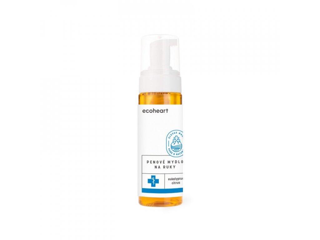 Ecoheart Pěnové mýdlo na ruce s eukalyptem (180 ml) - i na holení či odstranění make-upu