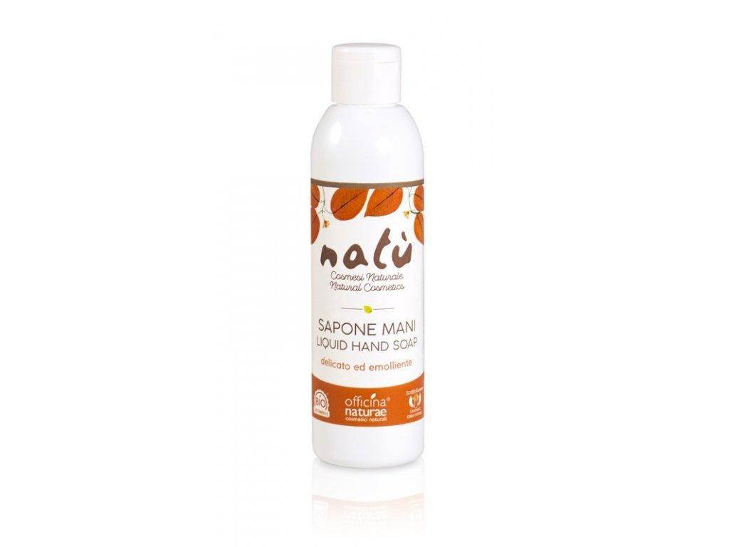 Officina Naturae Tekuté mýdlo na ruce Natú (200 ml) - vyhovuje i citlivé pokožce