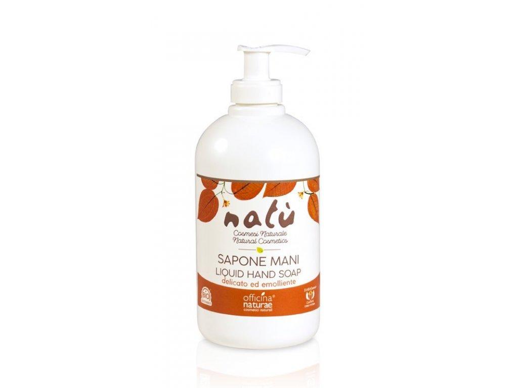 Officina Naturae Tekuté mýdlo na ruce Natú (500 ml) - vyhovuje i citlivé pokožce
