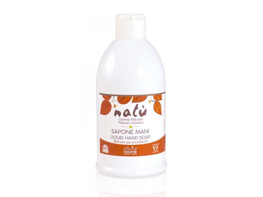 Officina Naturae Tekuté mýdlo na ruce Natú (1 l) - vyhovuje i citlivé pokožce