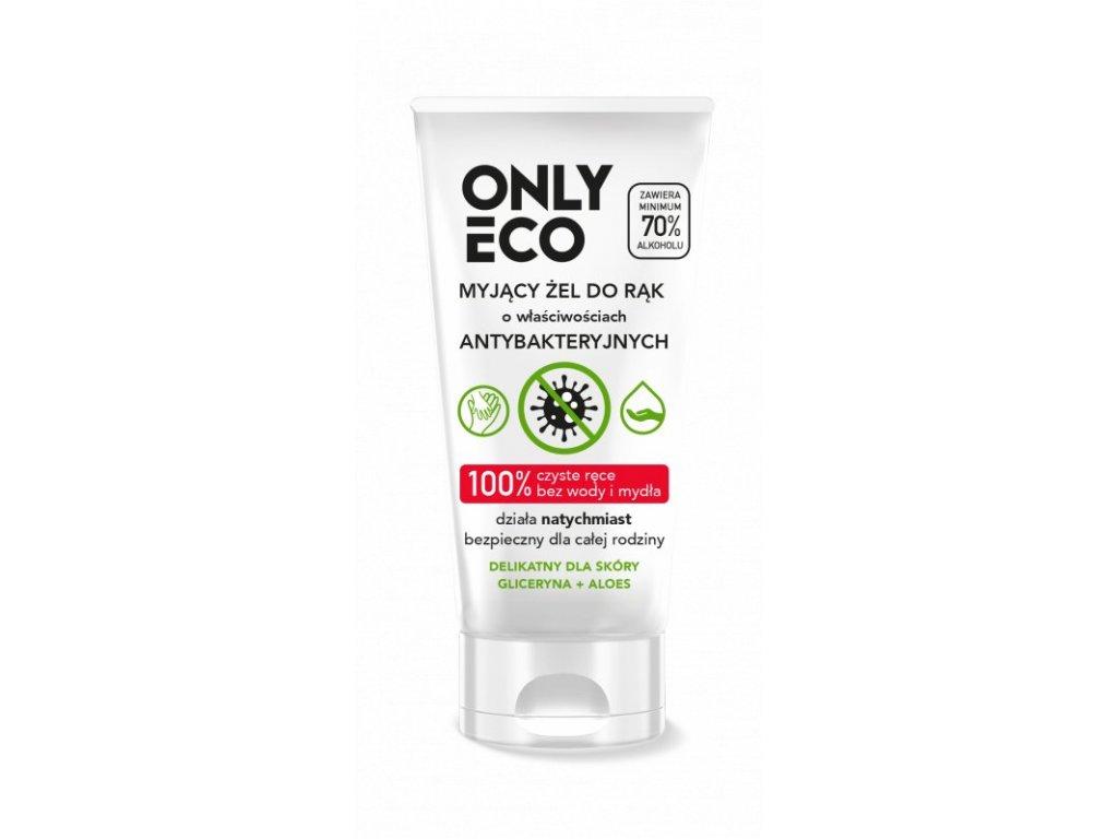 OnlyEco Gel na ruce s antibakteriálními účinky (50 ml) - z 98 % přírodní