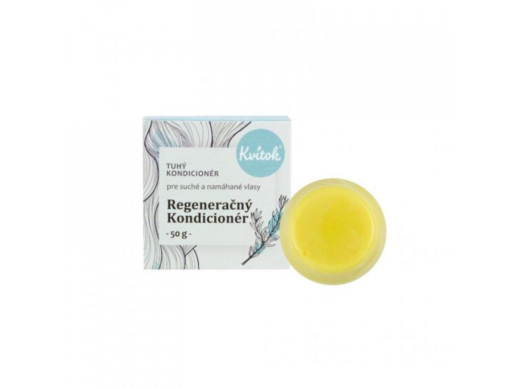 Kvitok Tuhý kondicionér pro suché a namáhané vlasy - Regenerační XL (50 g)