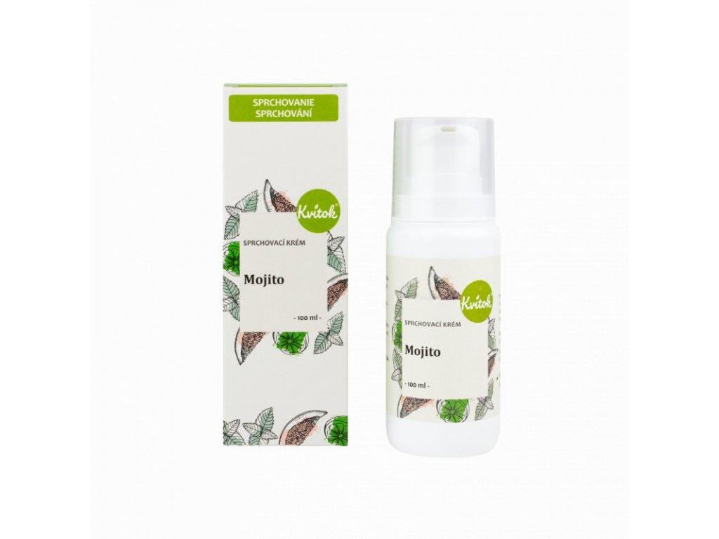 Kvitok Sprchový krém Mojito (100 ml) - osvěží tělo i mysl