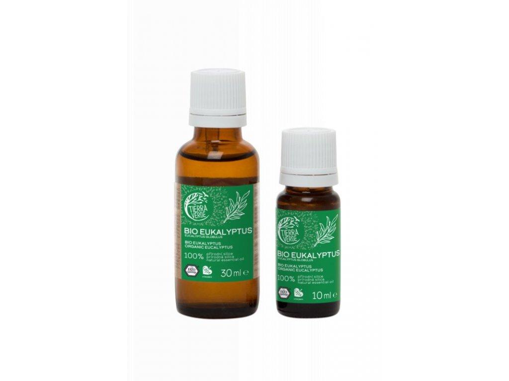 Tierra Verde Silice Eukalyptus BIO (30 ml) - uleví při nachlazení
